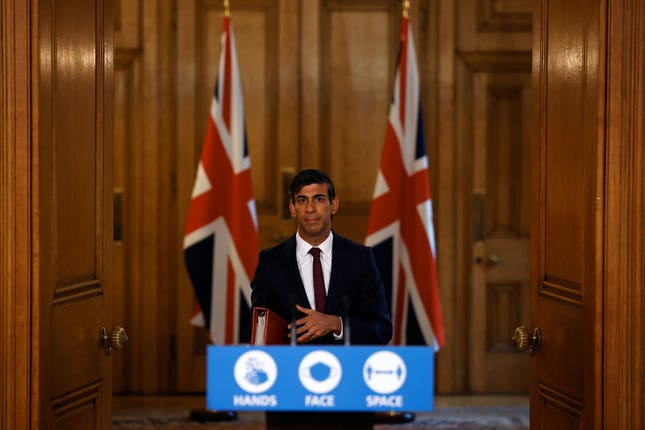 Chancellor of the Exchequer Rishi Sunak did not focus on sport in his latest announcement on financial aid
