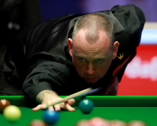 Mark Williams went down 6-4 to Shaun Murphy at the Masters in Milton Keynes