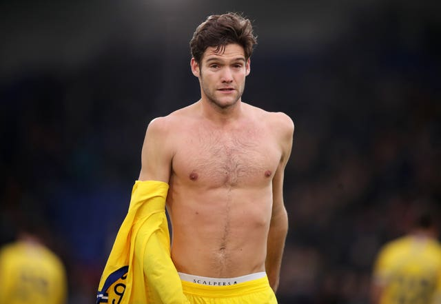 Marcos Alonso has described the congested festive fixture list as
