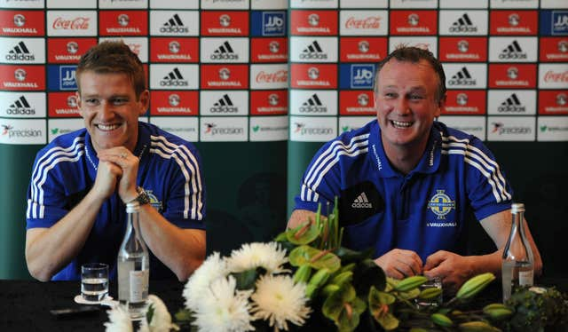 Soccer – 2014 FIFA World Cup – Qualifier – Group F – Portugal v Northern Ireland – Northern Ireland Press Conference – Sheraton Hotel and Spa