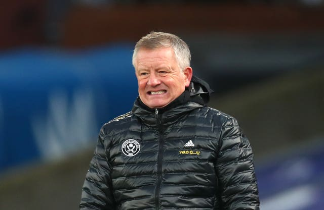 Chris Wilder's Sheffield United side have struggled in the league this season.