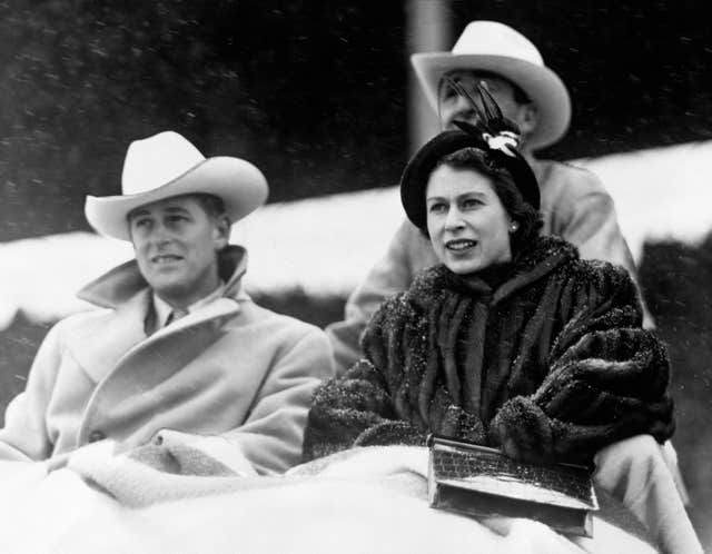 Princess Elizabeth in Canada