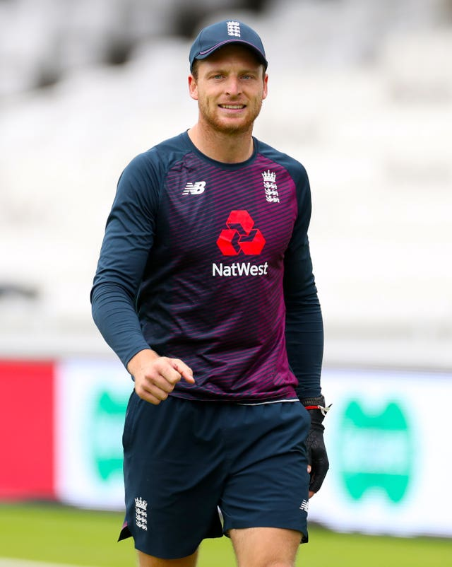 Jos Buttler has fallen ill on the third morning of the first Test.