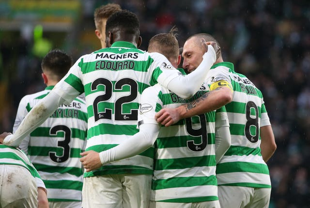 Celtic sit 13 points clear at the top of the Ladbrokes Premiership