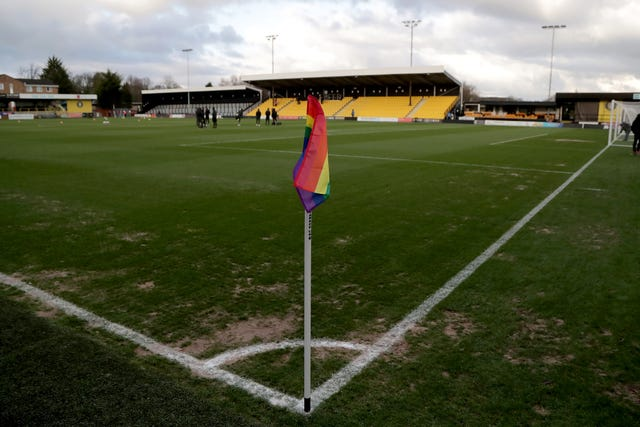 Harrogate's home game against Cheltenham was among the EFL fixtures postponed due to the freezing weather