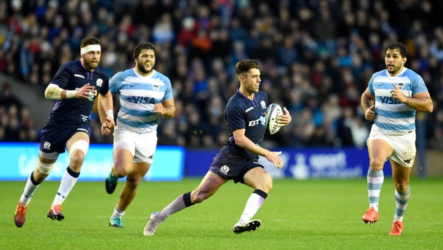Scotland have a strong recent record against Argentina