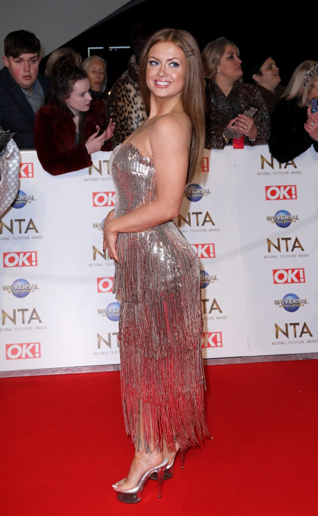 National Television Awards 2020 – Arrivals – London