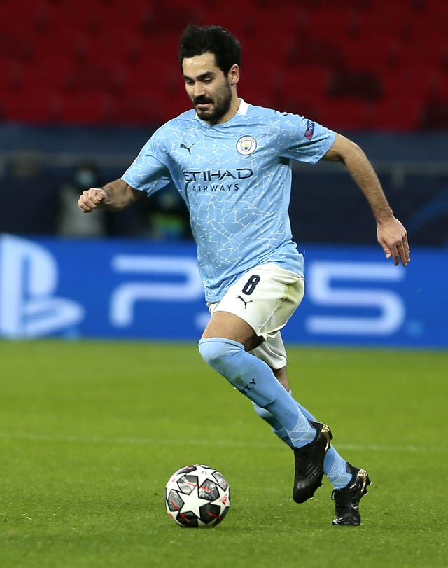 Gundogan has been a key player for City this season