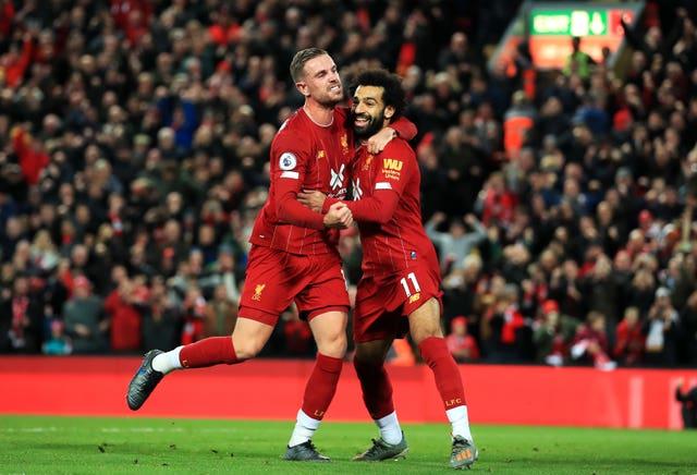 Liverpool v Tottenham Hotspur – Premier League – Anfield