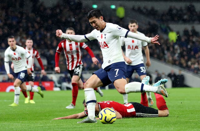 Son Heung-min was on the scoresheet for Spurs