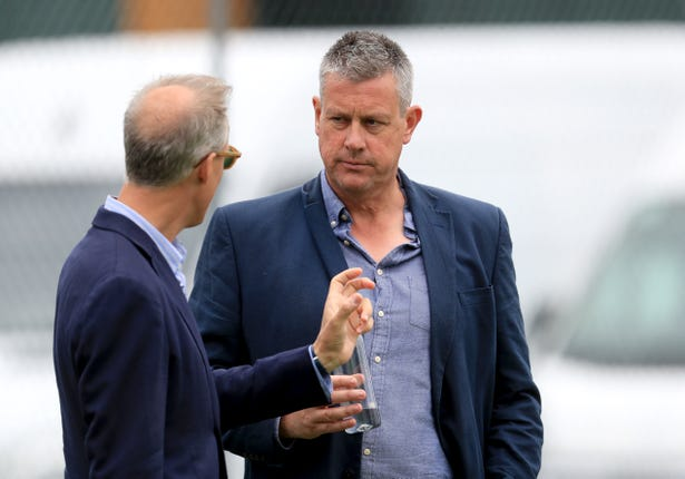 Ashley Giles has talked up the strengths of Sibley