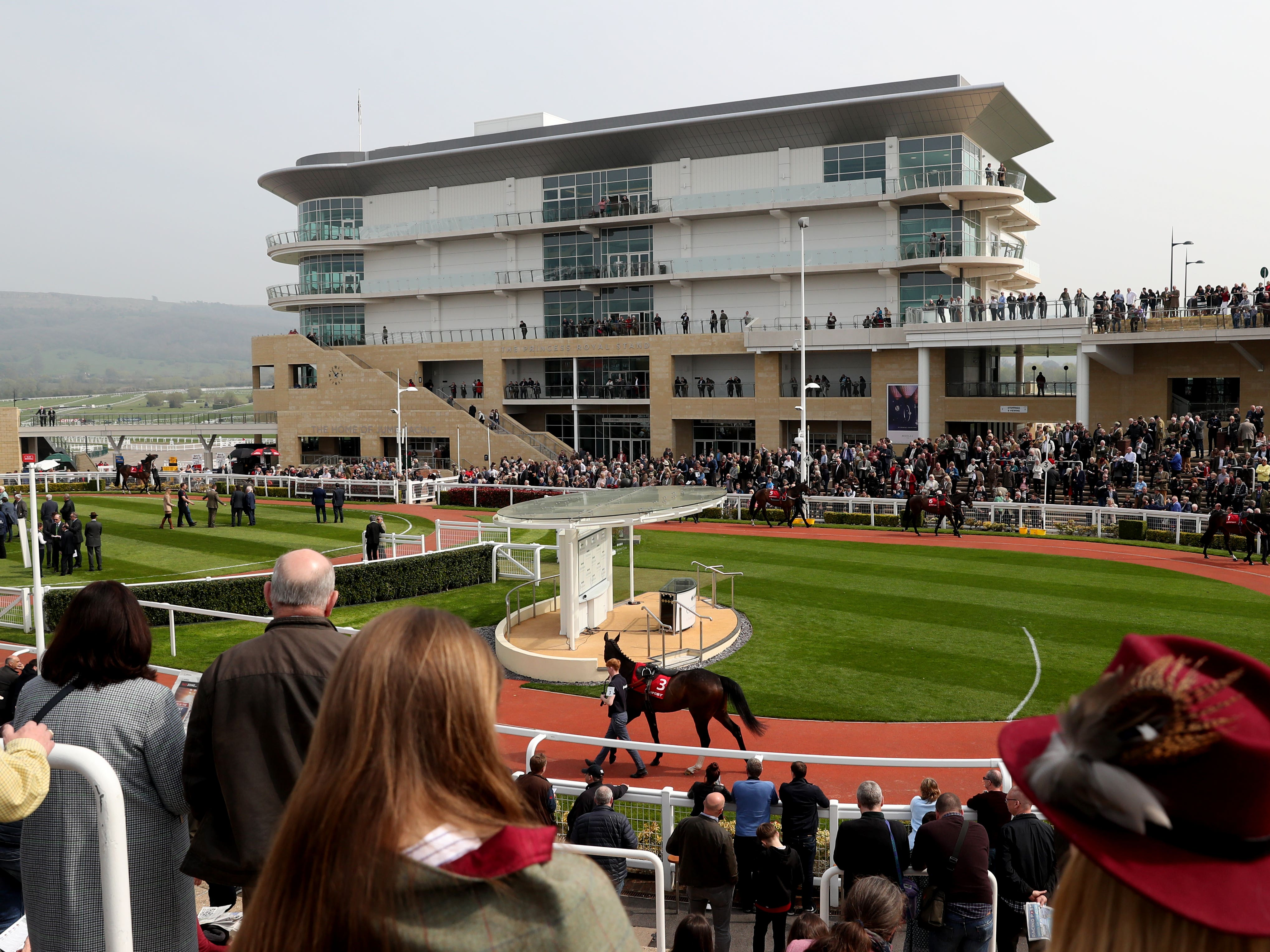 Cheltenham will hold a Thursday inspection after an overnight deluge at the track (Simon Cooper/PA)