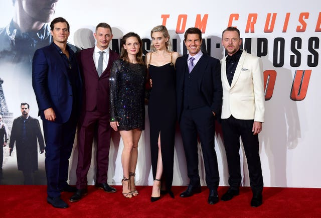 The cast of Mission Impossible - Fallout