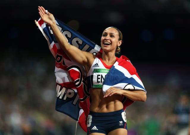 Jessica Ennis' gold in the heptathlon was a third in 44 minutes during the London 2012 Olympics