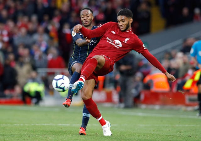 Liverpool's Joe Gomez was pleased with another Premier League clean sheet.