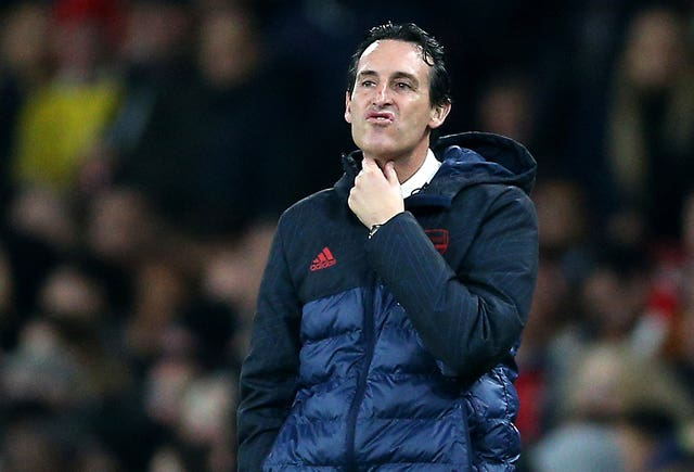 Unai Emery was sacked on Friday morning
