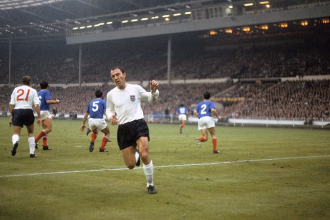 Jimmy Greaves had been England's all time record goalscorer with 48.