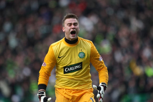 Boruc spent five years at Rangers' bitter rivals Celtic