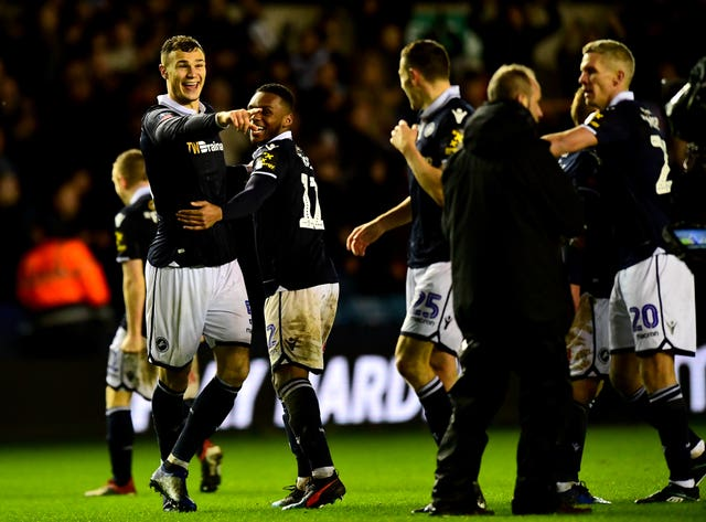 Millwall beat Everton with an injury-time winner in the FA Cup