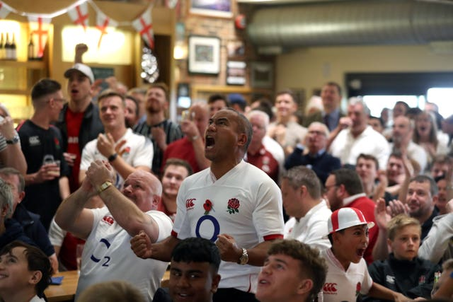 Fans Watching England v South Africa – 2019 Rugby World Cup Final