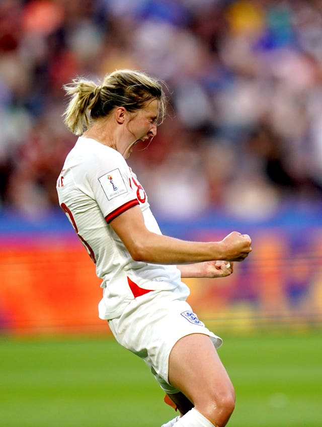 England's Ellen White is in contention for the golden boot