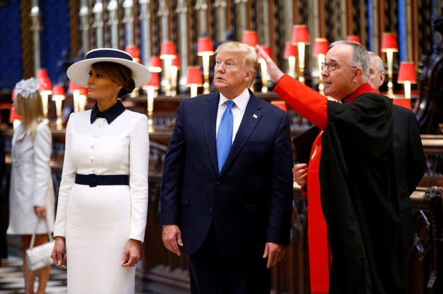President Trump state visit to UK – Day One