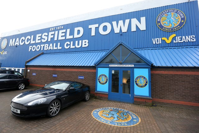Macclesfield have been charged by the EFL over the non-payment of players