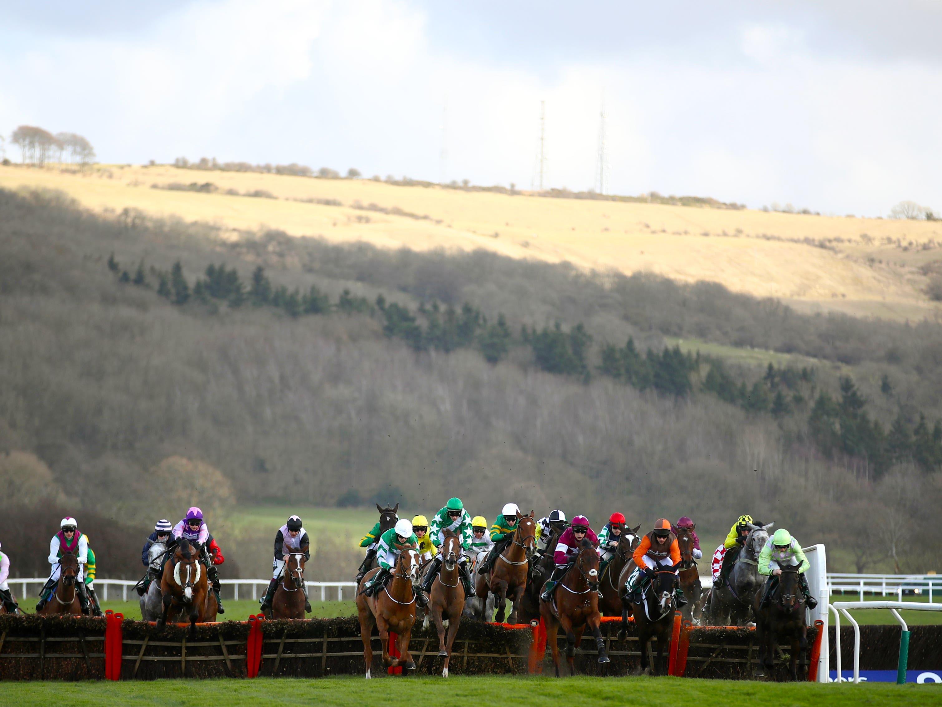 Racing returns to Cheltenham on Friday (Tim Goode/PA)