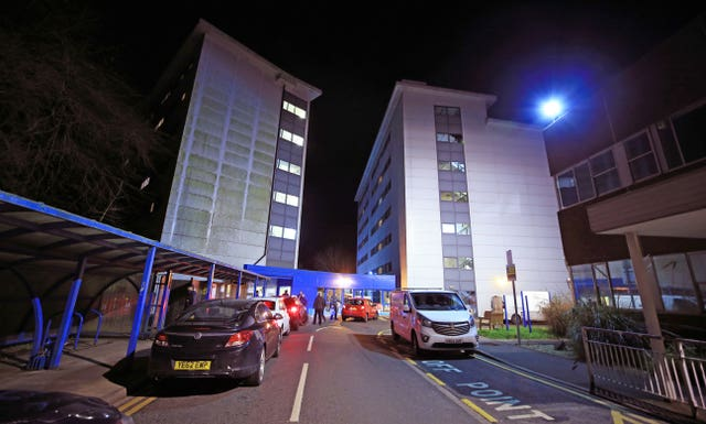 The accommodation at Arrowe Park Hospital in Merseyside