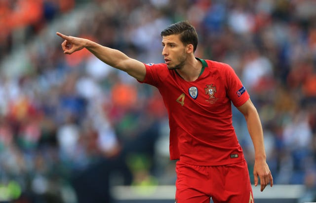 Portugal international Ruben Dias joined City from Benfica this week