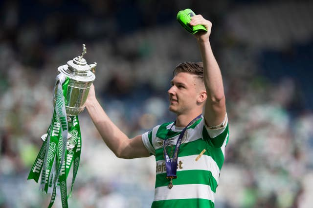 Tierney became accustomed to winning silverware during his time at Celtic.