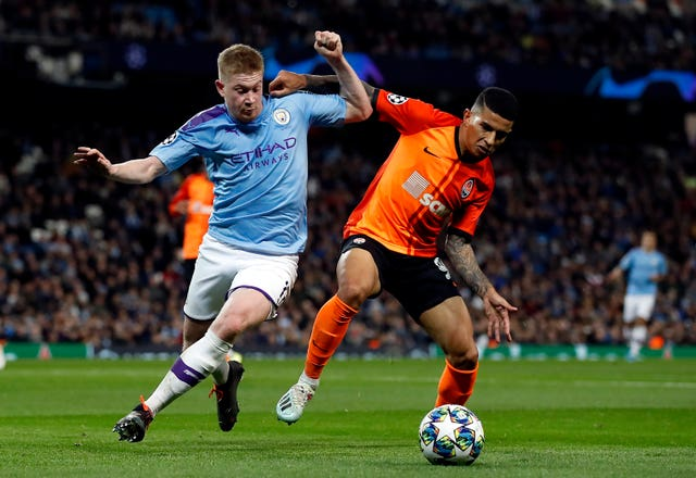 City laboured against Shakhtar but still secured top spot in Group C