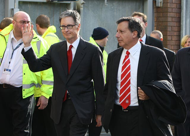 John W Henry and Tom Werner secured a £300million deal to buy Liverpool in 2010