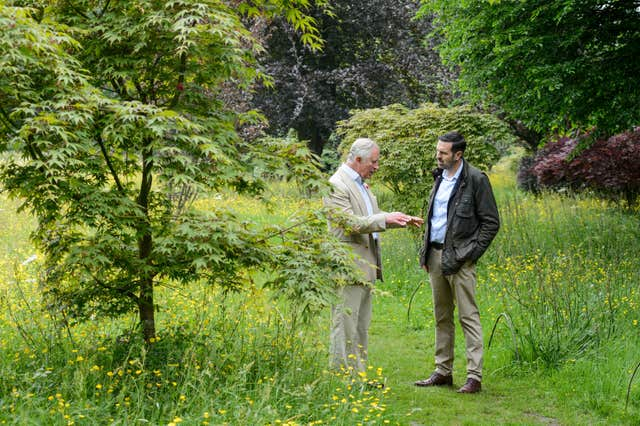 Prince of Wales on Gardeners' World