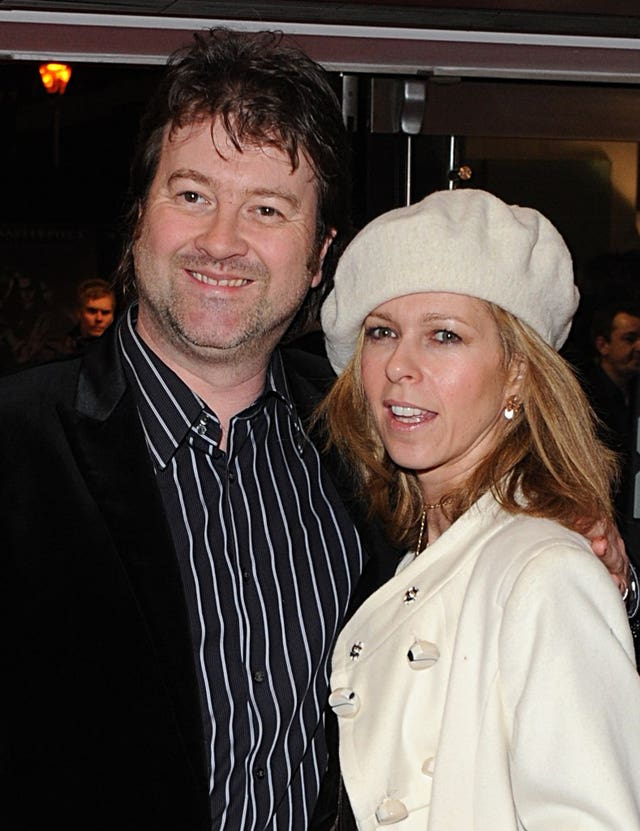 Kate Garraway and  Derek Draper in 2008
