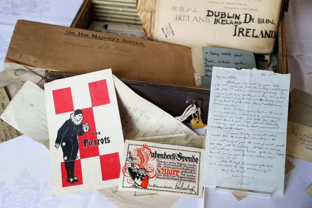 War letters unearthed in Belfast