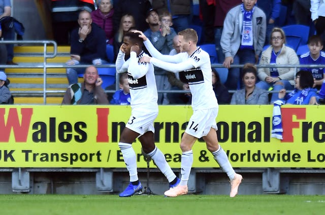 Ryan Sessegnon scored his first Premier League goal on Saturday