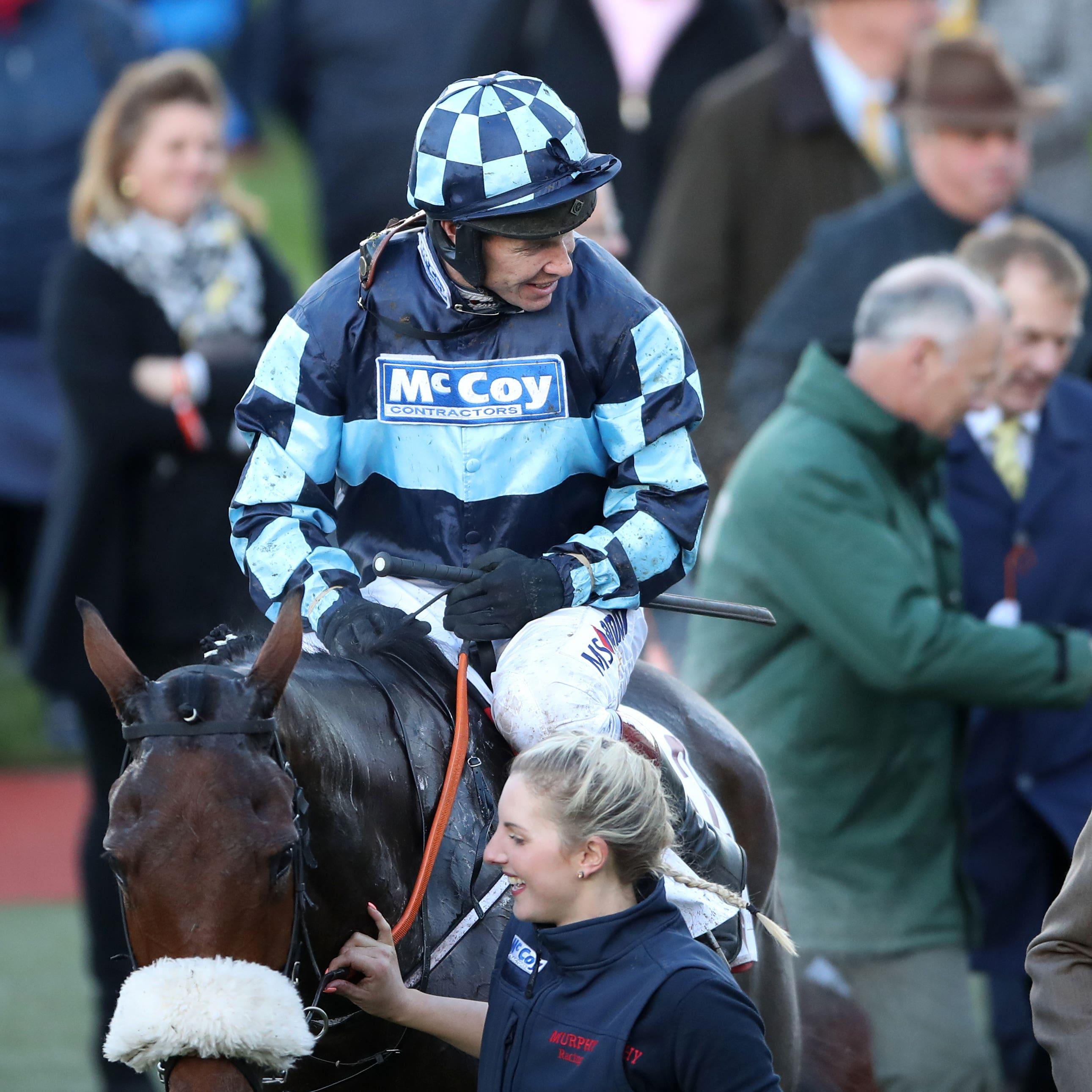 Thomas Darby returns after winning at Cheltenham