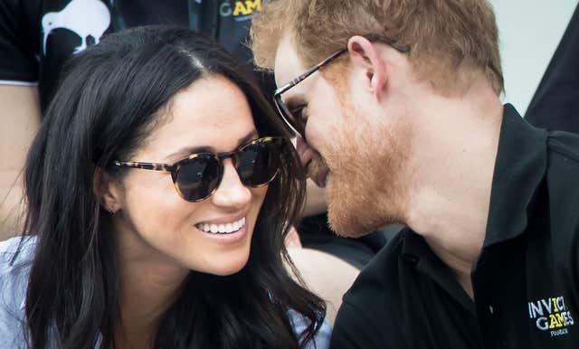 Prince Harry and Meghan Markle (PA)