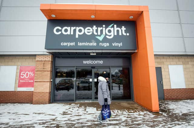 Carpetright is pursuing a similar insolvency procedure (PA)