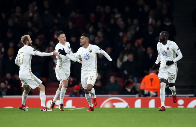 Ostersunds recorded a famous win in 2018 when they beat Arsenal at the Emirates Stadium