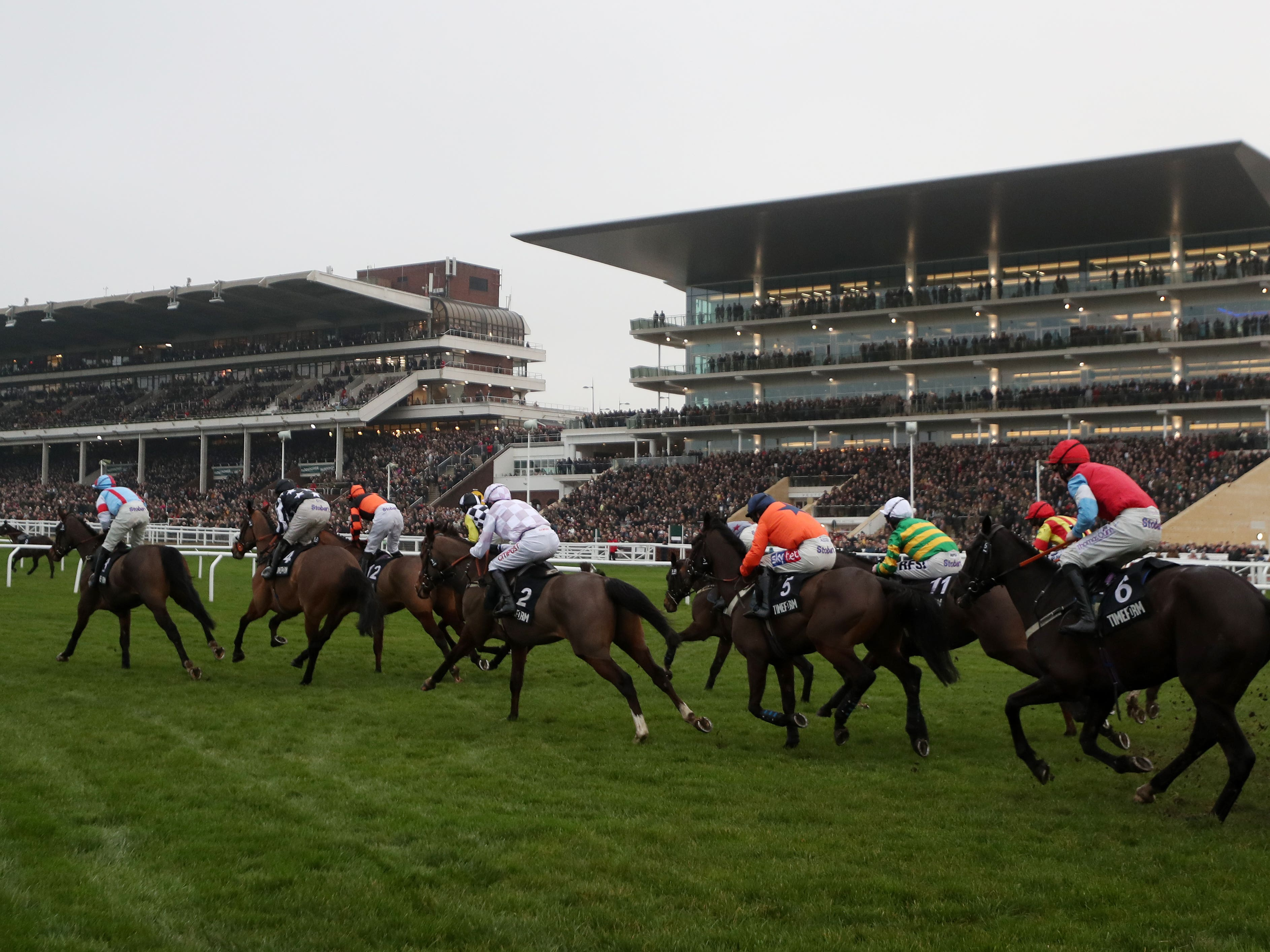 The Cheltenham Festival is the first of a series of high-profile meetings on the racing calendar this spring (David Davies/PA)