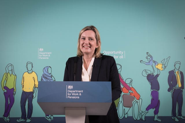 Amber Rudd speech