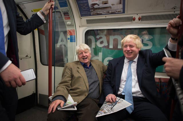 Boris Johnson said his father Stanley's appearance on I'm A Celebrity... Get Me Out Of Here! was