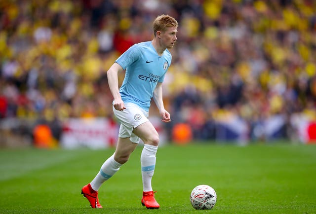 Kevin De Bruyne looked in good touch