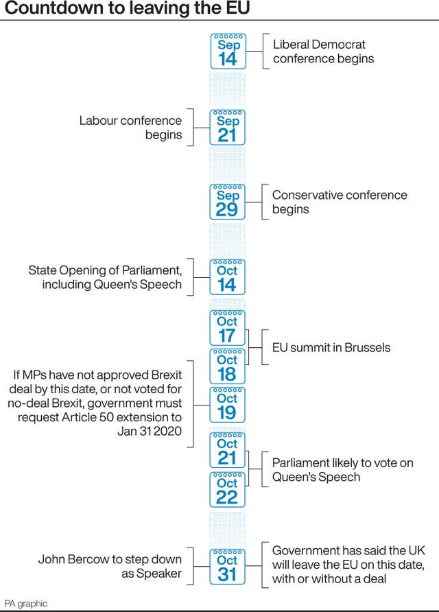Parliament is suspended, so what is happening on Brexit with