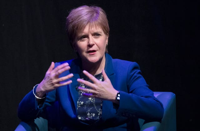 First Minister Nicola Sturgeon at the Edinburgh Fringe