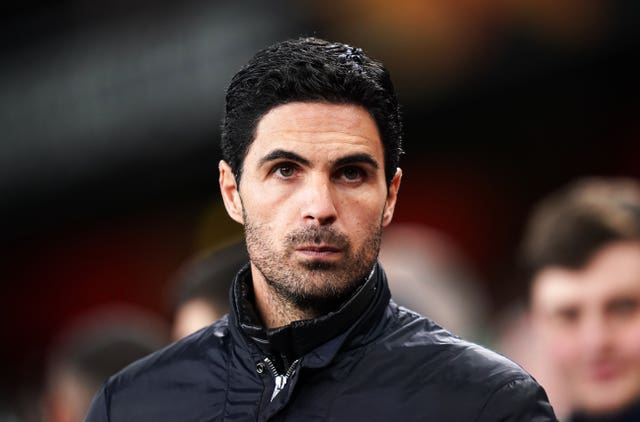 Mikel Arteta felt Arsenal defender William Saliba should have remained at Saint-Etienne to feature in the French cup final