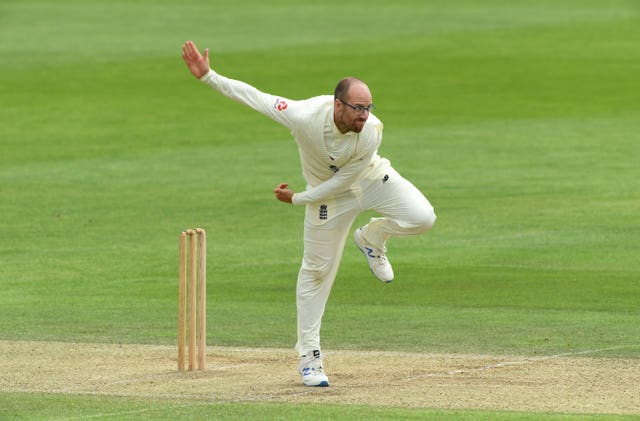 Jack Leach is one of four reserves in the Test squad (Stu Forster/Pool/PA)