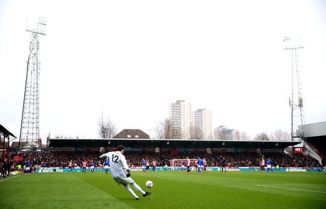Brentford v Leicester City – FA Cup – Fourth Round – Griffin Park